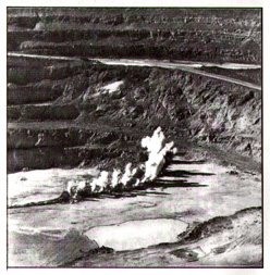 The Fing open pit mine