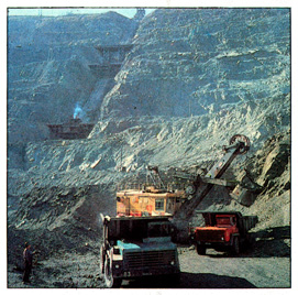 The open pit of the combined enterprise