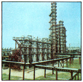 The gas processing plant