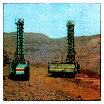The drilling rigs