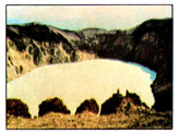 (Figure # 1) The crater lake